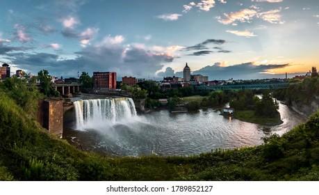 Moody Sunset over Rochester New York