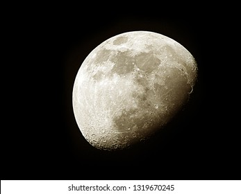 Moon background / The Moon is an astronomical body that orbits planet Earth and is Earth's only permanent natural satellite. It is the fifth-largest natural satellite in the Solar System