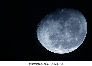 Moon background / The Moon is an astronomical body that orbits planet Earth, being Earth's only permanent natural satellite.