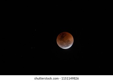 Moon during lunar eclipse