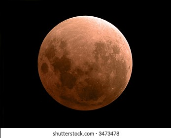 Moon eclipse November 8 2003