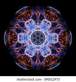 Moon Jelly Mandala