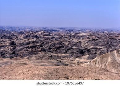 moon landscape, namib naukluft park, namibia, erongo, africa