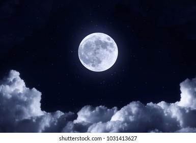 MOON NIGHT VIEW