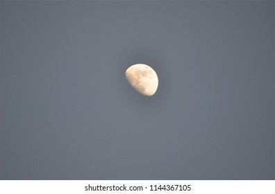 The moon on the Maldives