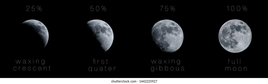 Moon-phase Images, Stock Photos & Vectors | Shutterstock