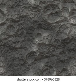 Moon / Planet Surface Texture - Seamless