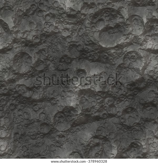 Moon Planet Surface Texture Seamless Stock Photo (Edit Now
