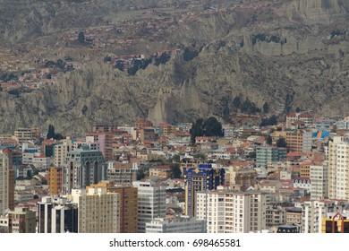 Moon Valley, La Paz, Bolivia