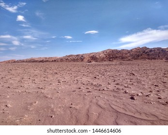 The Moon Valley (Valle de la Luna) in Atacama Desert is one of the most visited attractions in San Pedro de Atacama, Chile.  It's known for its moonlike landscape of dunes, rocks and mountains.