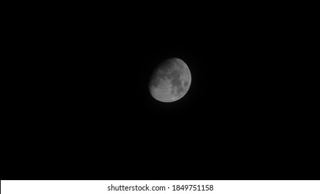Moon view on a clear night