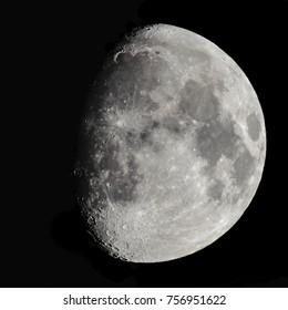 Moon waxing gibbous 78%