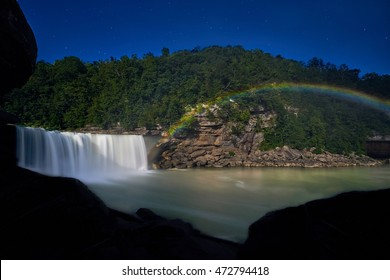 Moonbow at Cumberland Falls, KY
