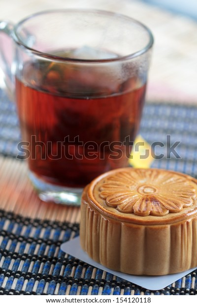 Mooncake is delicious served with hot tea.