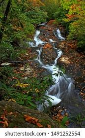 Mooney Falls, Nantahala National Forest, North Carolina.