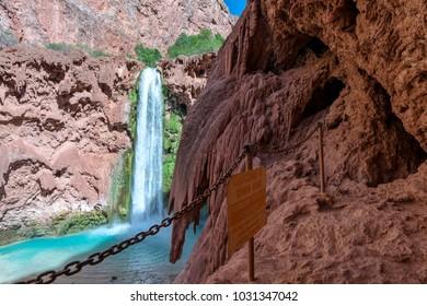 Mooney Falls Supai Arizona