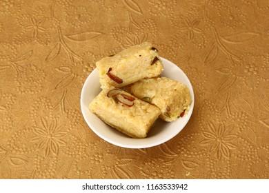 Moong Dal Burfi, Indian Sweet