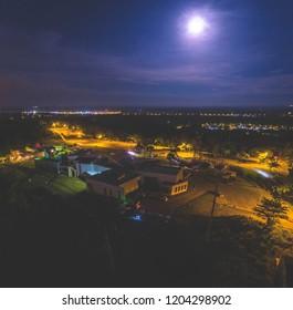 Moonlight View at The Grand Old Lady Miri, Sarawak.