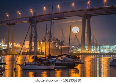 Moonrise in Coronado
