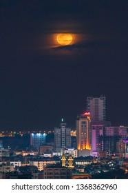 Moonrise Images, Stock Photos & Vectors | Shutterstock