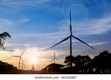 Moor turbines