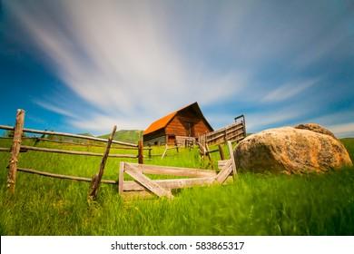 Moore Barn - Steamboat Springs, Colorado.