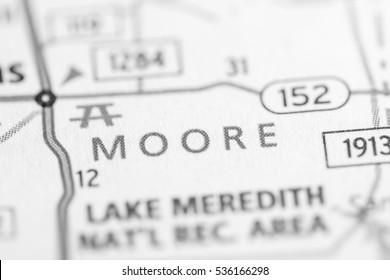 Moore. Texas. USA