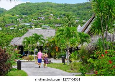 Beach Bungalow Moorea Images Stock Photos Vectors