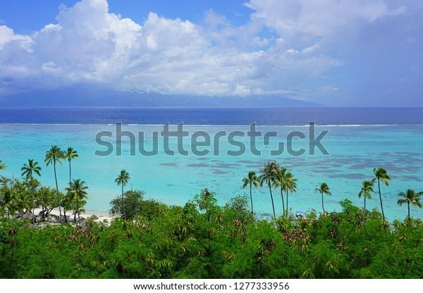 Moorea French Polynesia 30 Nov 2018 Stock Photo Edit Now