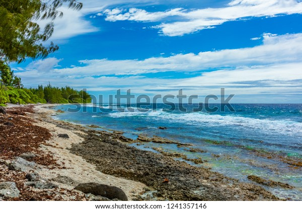 Moorea Island Beach Stock Photo Edit Now 1241357146