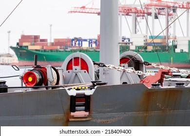 mooring anchor winch