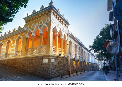 Moorish Barracks is a historical barracks in Calcada Da Barra , Macau, China. It's the popular historic buildings and structure in Macau.