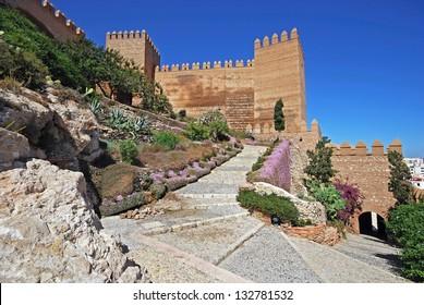 Moorish Castle, Almeria, Costa Almeria, Almeria Province, Andalusia, Spain, Western Europe.