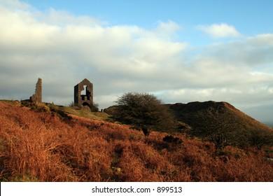 Moorland Views on Bodmin Moor Cornwall England