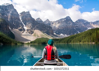 Moraine Lake Alberta Canada