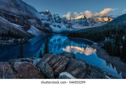 Moraine Lake. Canada