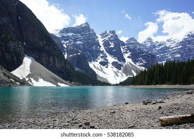 Moraine Lake in the Canadian Rocky Mountains