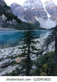 Moraine Lake grandeur in Alberta, Canada