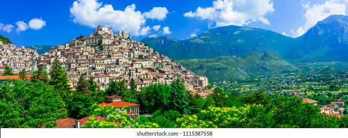 Morano Calabro - one of the most beautiful medieval  villages of Italy. Calabria
