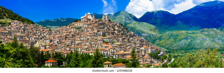 Morano Calabro - one of the most beautiful medieval  villages of
