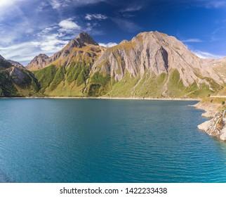 The Morasco lake (Formazza, Ossola, Piedmont, Italy)