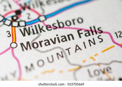 Moravian Falls. North Carolina. USA