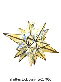 Moravian star lamp Christmas decoration