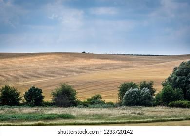 Moravian Tuscany landscape, south Moravia, Czech republic