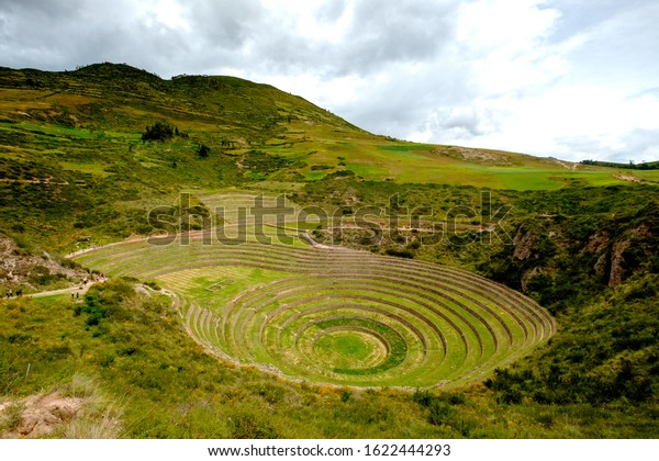 Moray the open greenhouse of the incas