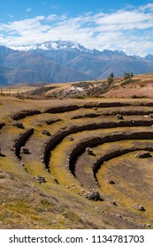 Moray ruins, close to Cusco, Peru.
