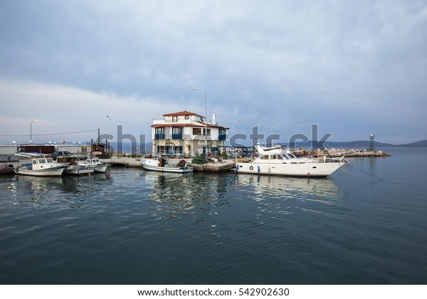Mordogan Town near to Aegean Sea