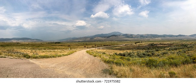 More High Plains Vistas. A huge ranch in Montana, just North West of Virginia City