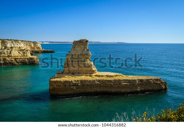 Morena Beach Algarve Stock Photo Edit Now 1044316882