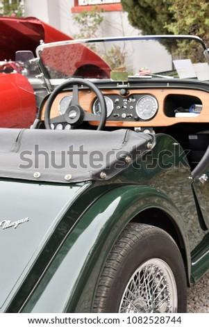 Morgan Automobile British Motor Car Bisbee Stock Photo Edit Now - Bisbee car show